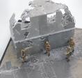 Stahlbetonplatten Diorama