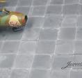 Betonplatten Flugplatz