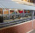 Verwendung für das Dach (hier mit der Wellplatte grau)