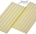 Wellplatten Faserzement gelb transparent