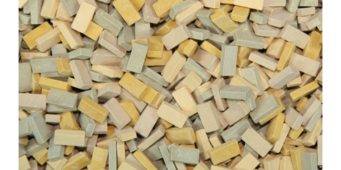 bricks RF beige mix