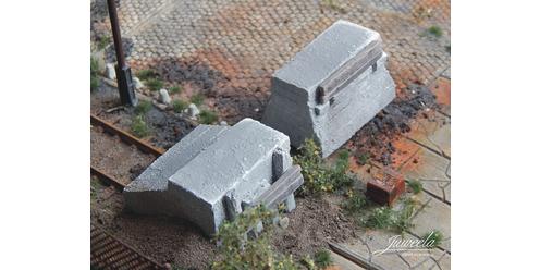 Prellböcke Beton