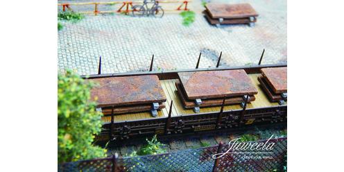 Ladegut Betonplatten