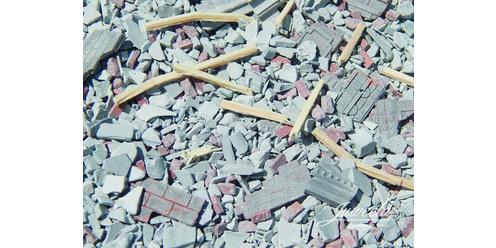 rubble in the box