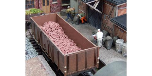 Ziegelsteine Ladung mit 2000 Stk.